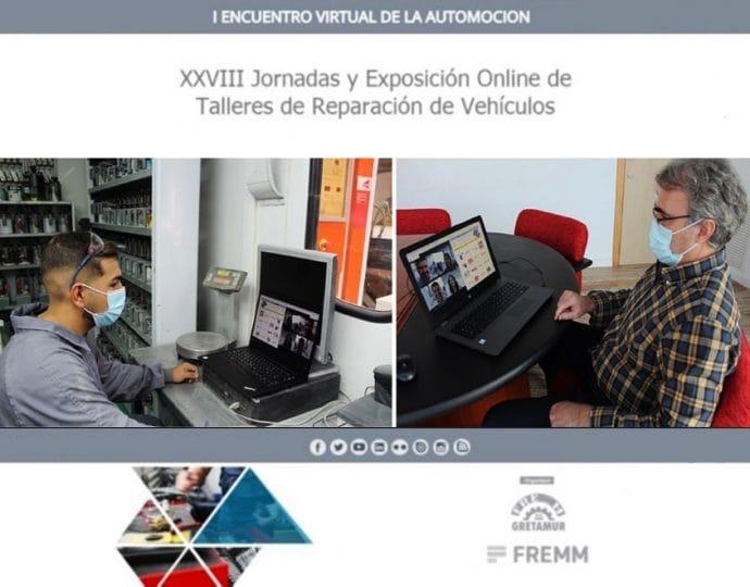 éxito participación XVIII Jornadas y Exposición Online de Talleres de Gretamur