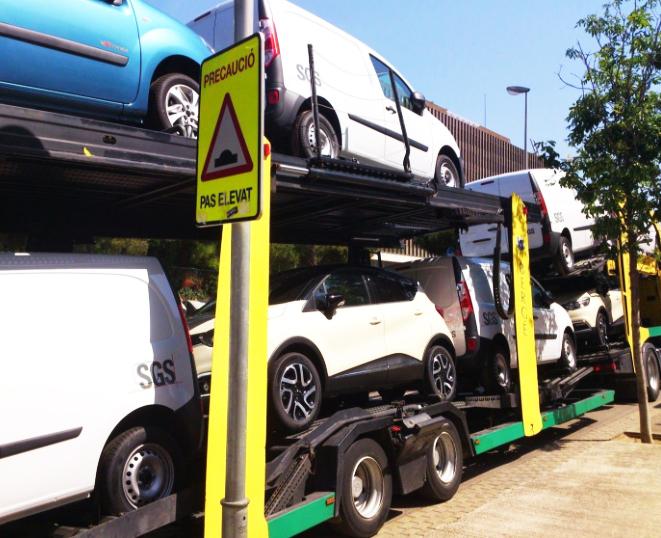 fabricantes de vehículos valoran logística camiones