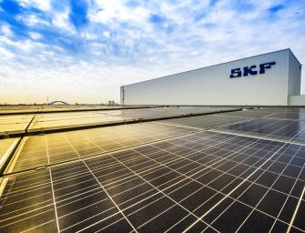 Las fábricas de SKF serán neutras en carbono para el año 2030