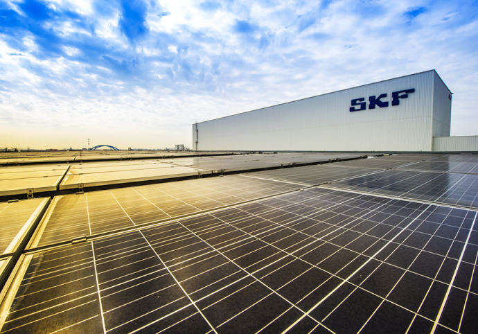 fábricas de SKF neutras en carbono para 2030