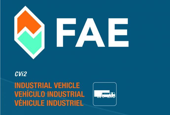 FAE nuevo catálogo CVi2 para vehículo industrial