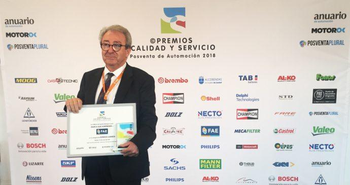 FAE Premios Calidad y Servicio 2018