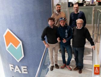 FAE renueva su apoyo al piloto del Dakar Pep Mas del equipo Team 77