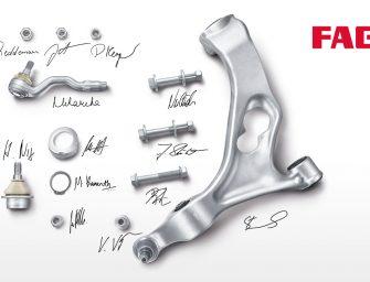 Nueva gama de componentes de suspensión y dirección FAG