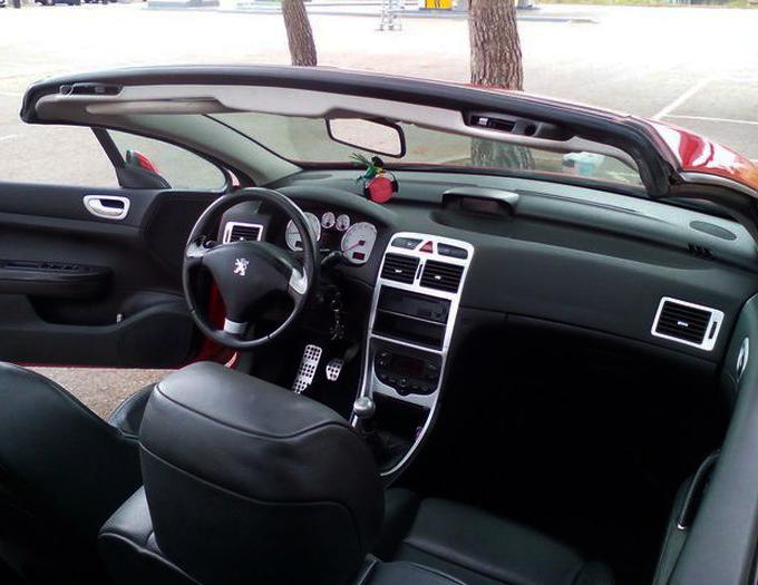 fallo al abrir techo escamoteable Peugeot 307 CC