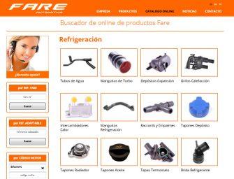 El catálogo online de FARE, ahora más sencillo, potente y visual