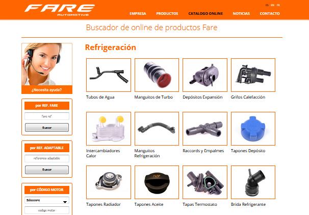 FARE nuevo catálogo online