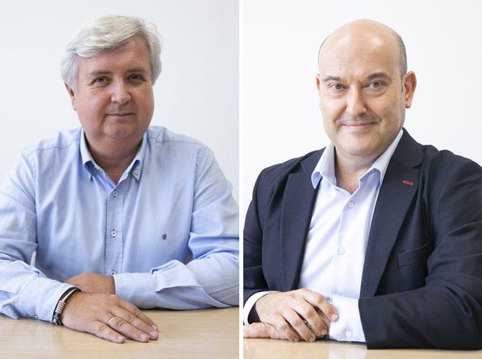 Fernando Pérez Granero y José Antonio Camellín de Mobius Group