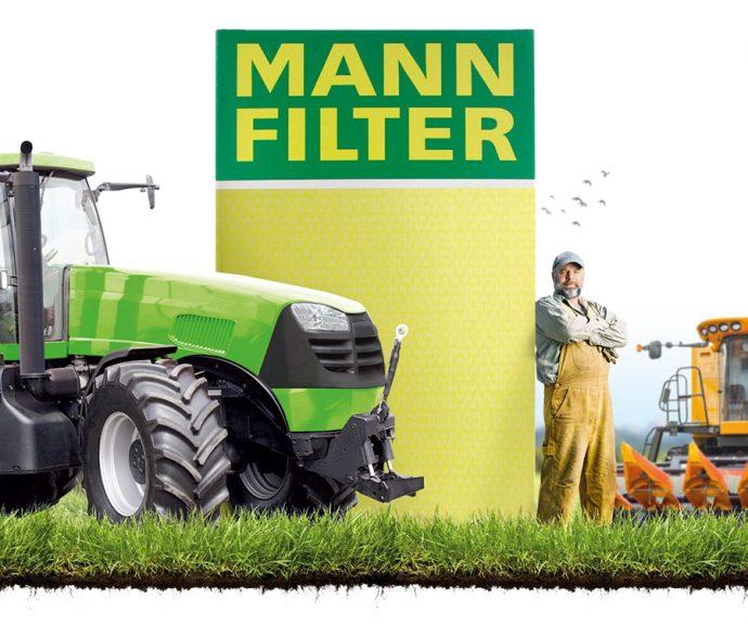 filtración de maquinaria agrícola de MANN-FILTER en FIMA 2020