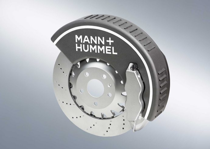 filtro de partículas de polvo de frenos MANN HUMMEL