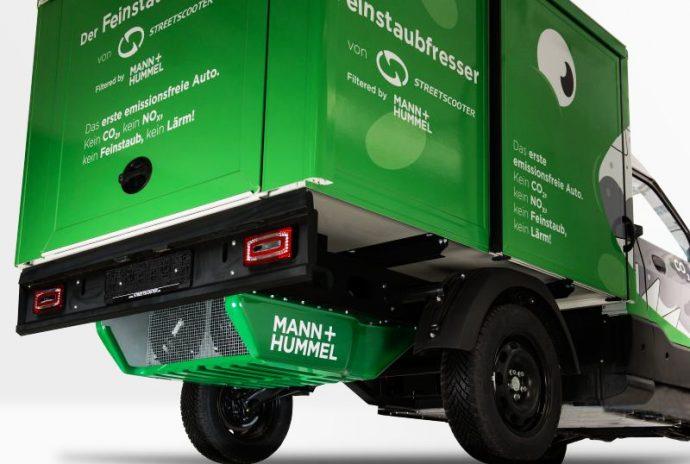 MANN+HUMMEL presenta el primer vehículo neutro en emisiones