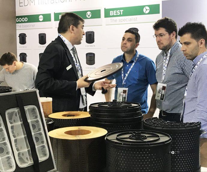 filtros para electroerosión