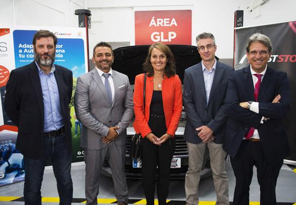 First Stop firma acuerdo Repsol AutoGas GLP