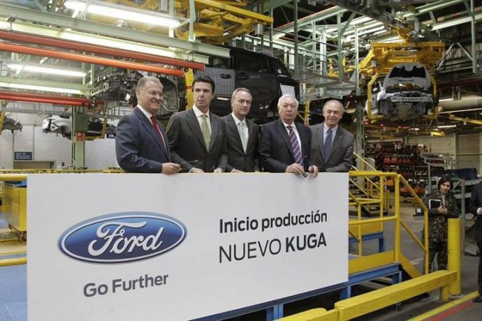 inversion almussafes nuevo ford kuga