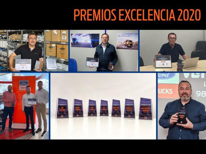 Ford Trucks España concede los galardones Excelencia 2020