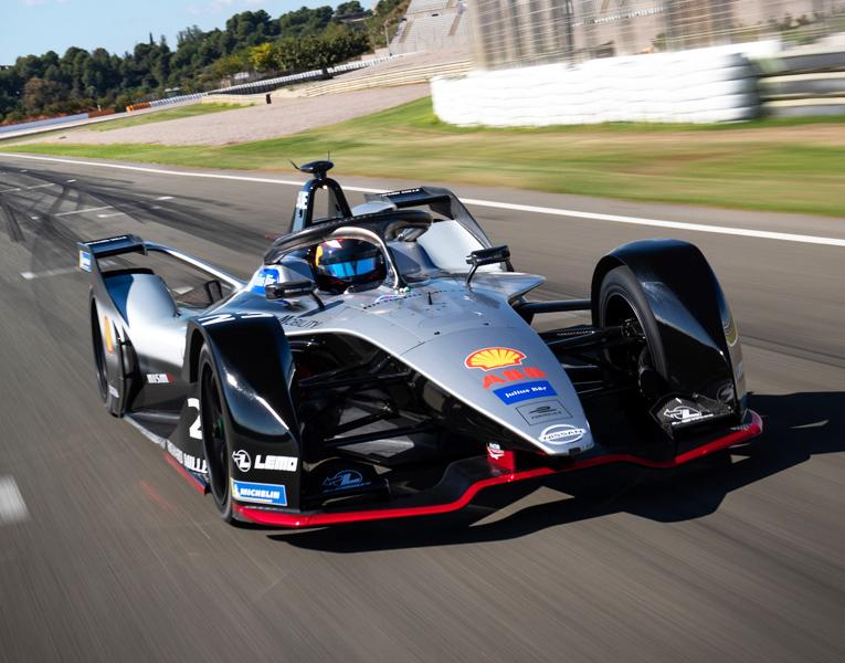 Fórmula E Nissan patrocinado por Shell