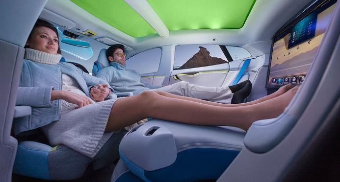 Año 2021, aterriza el coche autónomo sin volante