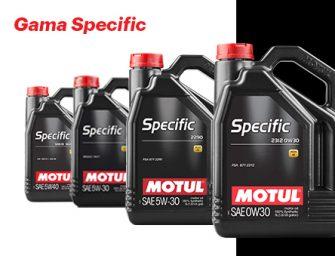 Motul cubre con su gama Specific todas las exigencias de los motores PSA