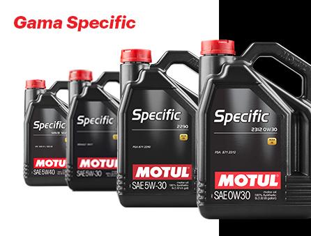 gama Motul Specific para motores PSA