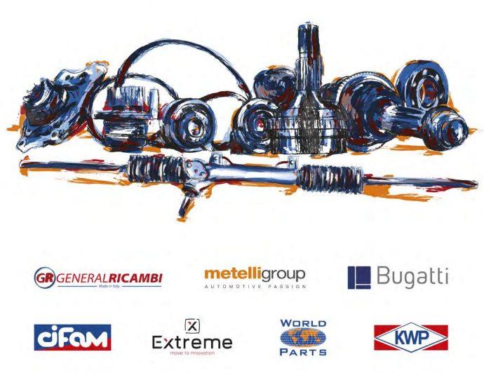 gama productos Intragrup general ricambi metelli cifam kwp bugatti