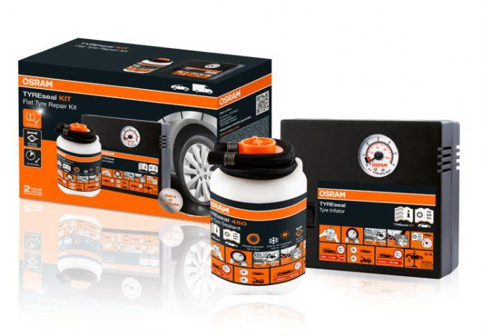 gama TYREseal selladores de neumáticos Osram