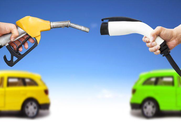 gasolina vs eléctrico