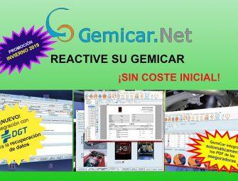 GemiCar.Net ofrece la reactivación gratuita de sus licencias