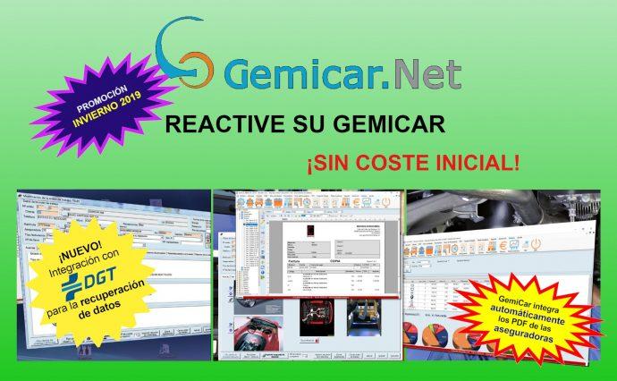GemiCar reactivación gratuita licencias diciembre 2019