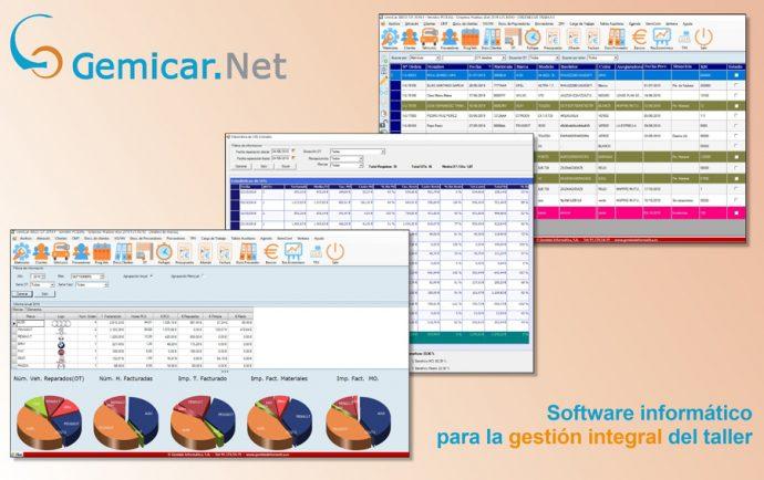 GemiCar.Net módulos para recepción activa y fichaje de trabajadores en tablets y móviles