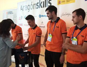 Glasurit, con la Formación Profesional en el Aragón Skills 2018