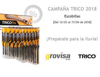 Grovisa activa una campaña para las escobillas TRICO