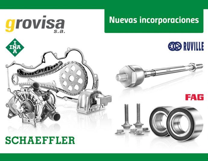 Grovisa incorpora marcas INA FAG y Ruville