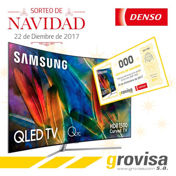 "grovisa sorteo navidad televisor samsung QLED 55"""