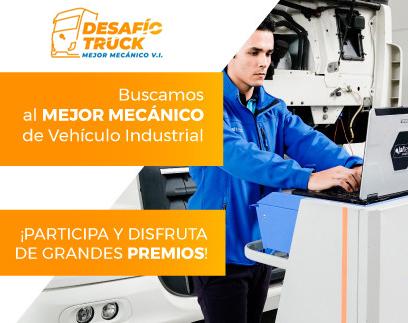 Grupo Cojali Desafío Truck en Motortec 2019