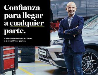 El Grupo Driver renueva a Antonio Lobato como embajador de marca