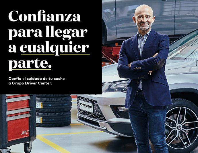 Grupo Driver renueva Antonio Lobato embajador de marca