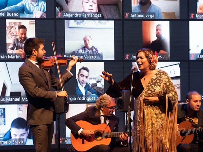 Grupo Peña celebración 50 aniversario concierto Youtube Live con Estrella Morente y Paco Montalvo