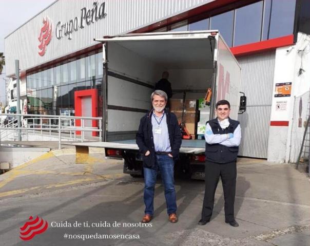 Grupo Peña donación estado de alarma