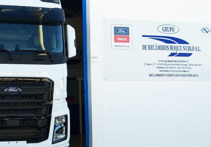 Grupo Roque Nublo distribuidor Ford Trucks Islas Canarias