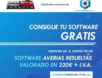 Grupo Vagindauto sortea el software para talleres de Averiasresueltas.com