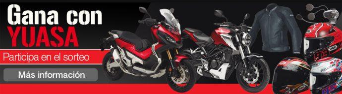 GS Yuasa Iberia sorteo baterías de moto