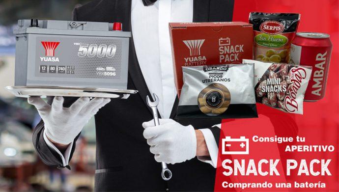 GS Yuasa vuelve a lanzar su Snack Pack para la temporada de verano
