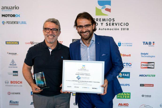 GT Estimate Premios Calidad y Servicio 2018