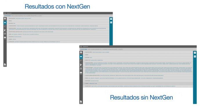 GT Estimate proceso de documentación NextGen