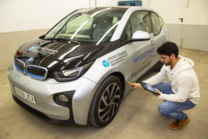 GT Motive Centro Zaragoza pertitación coche eléctrico Motortec