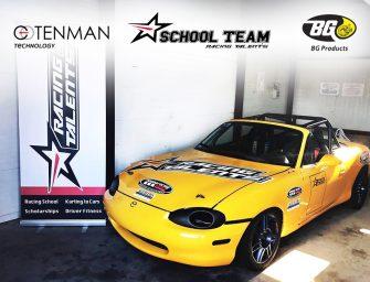 BG Products se suma a la escuela de jóvenes pilotos de Racing Talents