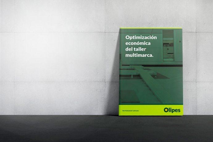 guía de optimización económica para talleres de Olipes Lubricantes