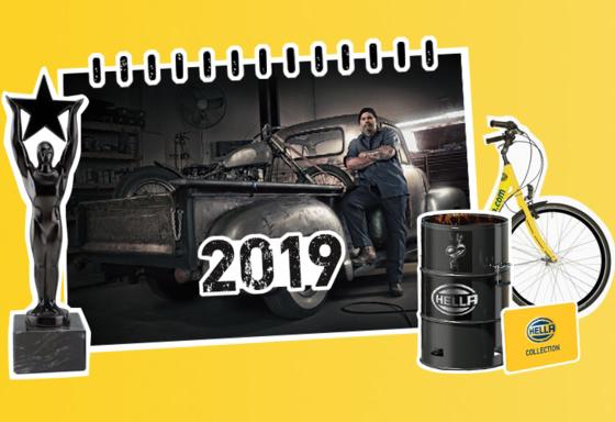 Calendario HELLA 2019
