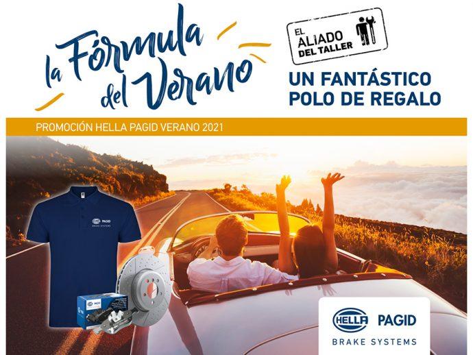 HELLA Pagid promoción para talleres la Fórmula del Verano julio 2021