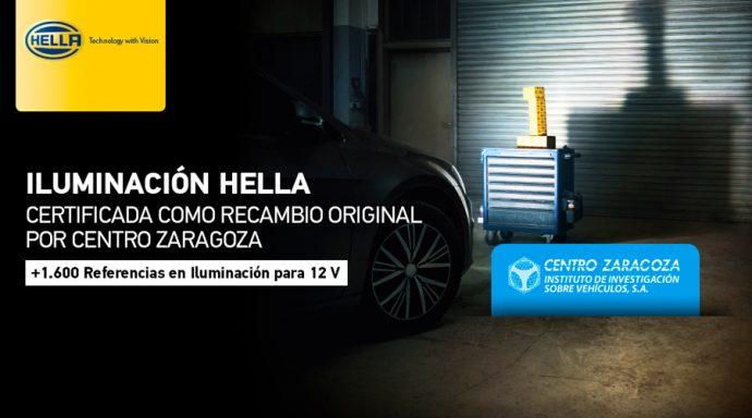 HELLA Recambio Original por Centro Zaragoza